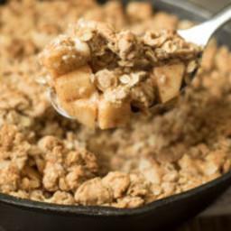 Cinnamon Caramel Apple Crisp