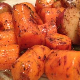 Cinnamon-Dill Carrots