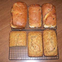 Cinnamon, Raisin, and Gronala Breakfast Bread Recipe