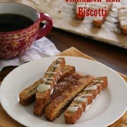 Cinnamon Roll Biscotti LC