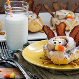 Cinnamon Roll Turkeys