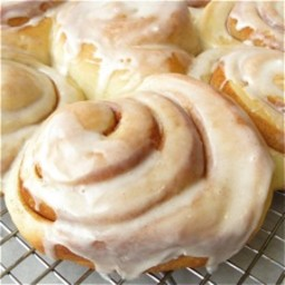 Cinnamon Rolls - partly cook and freeze