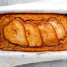 Cinnamon Spice Pear Bread
