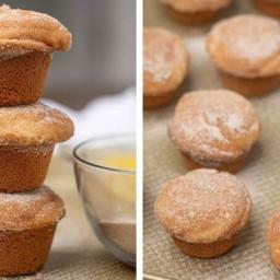 Cinnamon Sugar Donut Muffins (perfect donut texture!)