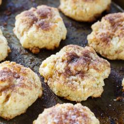 Cinnamon Sugar Drop Biscuits