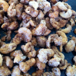 Cinnamon Sugar roasted cashews