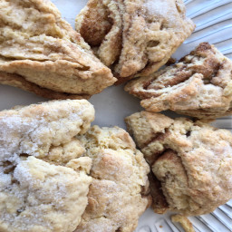 Cinnamon Sugar Scones