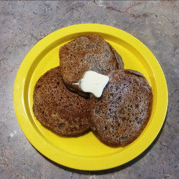 Cinnamon Sugar Rye Pancakes
