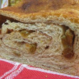Cinnamon Swirl Oat Bread