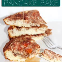Cinnamon Swirl Slow Cooker Pancake Bake Recipe