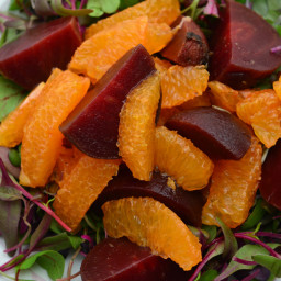 Citrus and Baby Beet Salad
