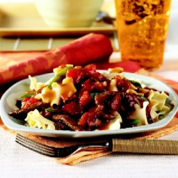Citrus Beef and Noodles