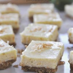 Citrus Cheesecake Bars