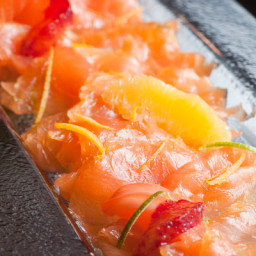 Citrus-Cured Gravlax With Toasted Fennel Seeds
