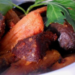Citrus-Ginger Roasted Beets and Carrots Recipe
