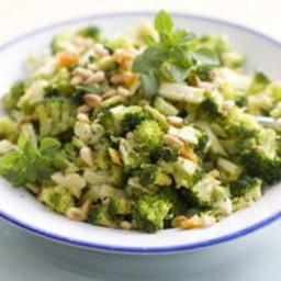 Citrus-Pine Nut Broccoli Slaw