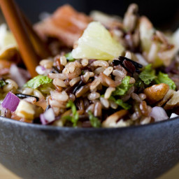 Citrus Rice Salad With Parmesan