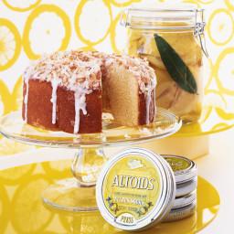 Citrusy Angel Food Cake
