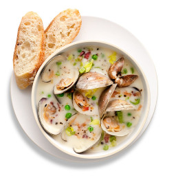Clam and Bacon Soup
