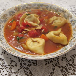 Clam and Tortellini Soup