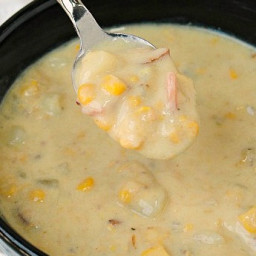 Clam Chowder in the Crock Pot