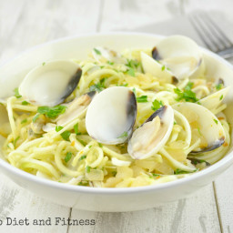 Clam Courgetti Vongole