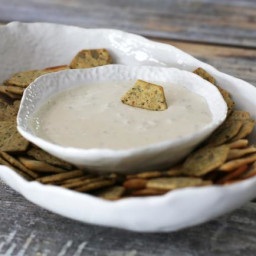 Clam Dip with Cream Cheese and Lemon Juice