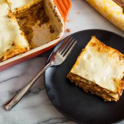 Classic Baked Lasagna Bolognese (Lasagne alla Bolognese) Recipe