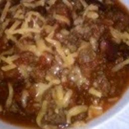 Classic Beef Chili (Crockpot)