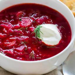 Classic Borscht Recipe (Beet Soup)