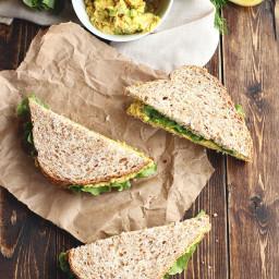 Classic Chickpea Egg Salad Sandwiches