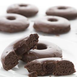 Classic Chocolate Cake Donuts