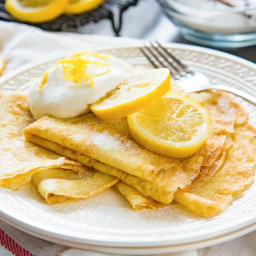 Classic French Crepes (Basic Crepes)
