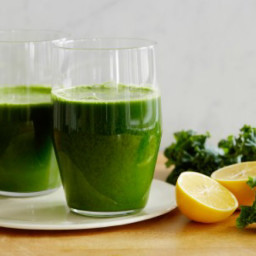 Classic Green Juice with a Meyer Lemon Twist