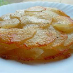 Classic Pommes Anna - Simple French Gratin Potato Cake