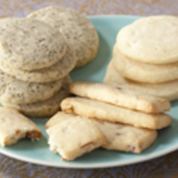 Classic Shortbread Cookies in 4 Ingredients with added 1 ingredient Variati