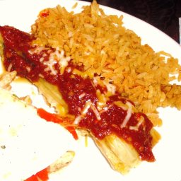 Classic Tamales with Red Sauce