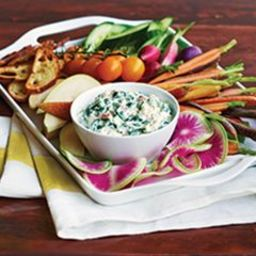 Classic Spinach Dip with Greek Yogurt