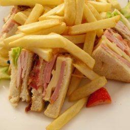 Classy Club Sandwiches