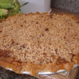 Claudia's Fresh Peach Crumble