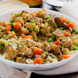 Clean Eating Beef Quinoa Stew