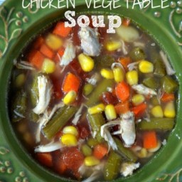 Clean Eating Chicken Vegetable Soup