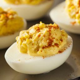 Clean-Eating Deviled Eggs