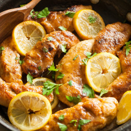 Clean Eating Easy Lemon Chicken Recipe