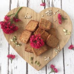 Clean eating nut free cracker recipe