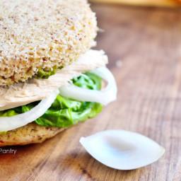 Clean Eating Pesto Turkey Sandwich