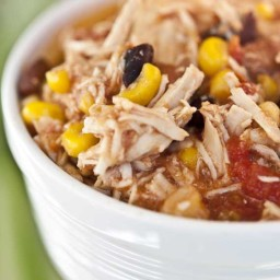 Clean Eating Slow Cooker Southwestern Chili