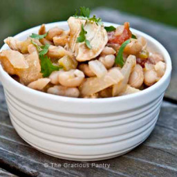 Clean Eating Slow Cooker White Chicken Chili