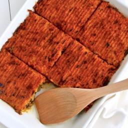 Clean Eating Turkey and Sweet Potato Shepherd's Pie