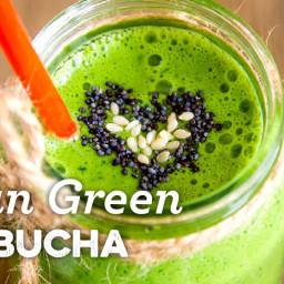 Clean Green Kombucha